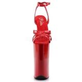 Piros 25,5 cm Pleaser BEYOND-012 Magassarkú Platform