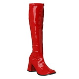 Piros 8,5 cm Funtasma GOGO-300 Női Csizma