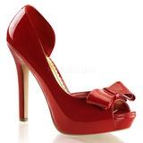 Piros Lakk 12 cm LUMINA-32 Körömcipők magas cipők