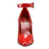 Piros Lakk 13 cm SEDUCE-431 Női Körömcipők