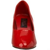 Piros Lakk 8 cm DIVINE-420W Női Körömcipők