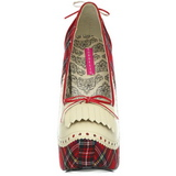 Pled Minta 14,5 cm Burlesque TEEZE-26 női cipők a magassarkű