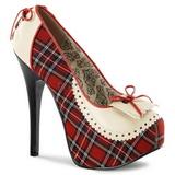 Pled Minta 14,5 cm Burlesque TEEZE-26 női cipők magassarkű