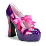 Rozsaszin Bíbor 13 cm KITTY-32 női cipők magassarkű