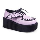 Rozsaszin CREEPER-205 Platform Creepers Cipők Női