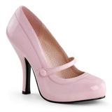 Rózsaszín Lakk 12 cm CUTIEPIE-02 Női Körömcipők