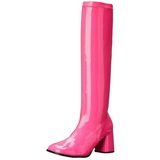 Rózsaszín Neon 8,5 cm FUNTASMA GOGO-300UV Női Csizma