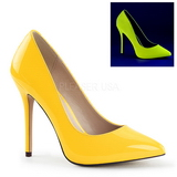 Sárga Neon 13 cm AMUSE-20 Körömcipők Tűsarkú Cipő