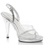 Strasszköves 11,5 cm FLAIR-456 transzvesztita magassarkű cipő