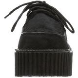 Szőrme 7,5 cm CREEPER-202 Platform Creepers Cipő
