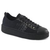 Vászon 4 cm SNEEKER-107 sneakers creepers cipők ferfi