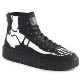 Vászon 4 cm SNEEKER-252 sneakers creepers cipők ferfi