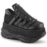 Vegan 7,5 cm NEPTUNE-50 Gótikus Demonia Cipők Férfi
