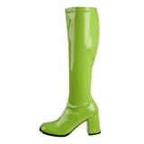 Zöld 7,5 cm Funtasma GOGO-300 Női Csizma
