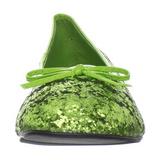Zöldcitrom STAR-16G Csillámos Balerínky Cipők