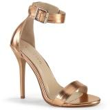 arany rózsa 13 cm AMUSE-10 transzvesztita magassarkű cipő