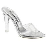 Átlátszó 11,5 cm CLEARLY-401 Plateau Papucs Női Cipők
