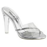 Átlátszó 11,5 cm CLEARLY-401R Plateau Papucs Női Cipők