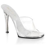 Átlátszó 11,5 cm Fabulicious GALA-01 Női Papucs Cipők