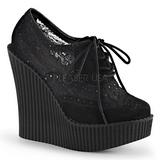 csipke anyag CREEPER-307 creepers éktalpú cipők